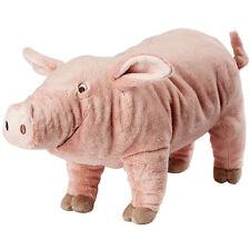 IKEA KNORRIG Stofftier Schwein Ferkel Kuscheltier rosa 37cm NEU