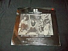 LP  U2  Live In Boston Limited Edition #60  Sealed  ME Records  UK