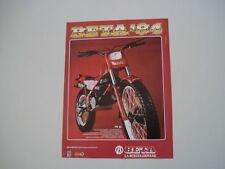 advertising Pubblicità 1984 MOTO BETA TRIAL TR32 TR 32