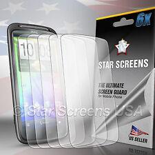 6X HD Ultra Clear LCD Screen Protector For HTC Sensation XE G14 G18 Z715E Z710E