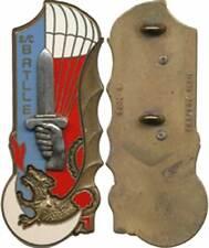 BATLLE, SCH, 103° Promo ENSOA, Parachutiste Extrème Orient, Fraisse 3038 (5157)