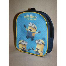MINIONS sac à dos maternelle bleu  école  L 20 x H 23 x P 8 cm neuf
