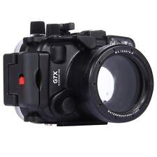 40m Waterproof Underwater Housing for Canon G7X Camera