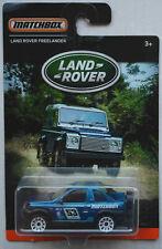 Matchbox Land Rover Freelander blaumetallic Land Rover Edition Neu/OVP SUV MBX
