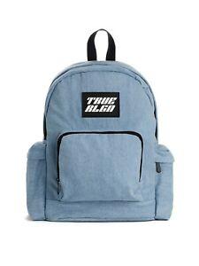true religion denim backpack bookbag NWT