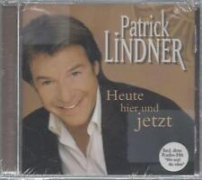 CD--PATRICK LINDNER--HEUTE HIER UND JETZT