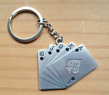 Royal Flush llavero poker keychain