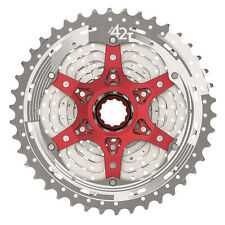 SUNRACE CSMX3 MTB 10 Speed Cassette 11-42T Silver Ultra Light