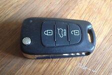 Kia Rio Picanto Ceed Sportage Cerato 3 button remote flip key SEKS-AM08FTx
