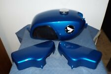 HONDA CL 175 GAS FUEL TANK LEFT RIGHT SIDE COVER BODY SET REPAINT 1968 NICE