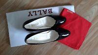 Bally gorgeous black leather high heel shoes  Sz 4.5 UK / 6.5 US, new