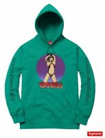 Supreme Vampirella Hooded Sweatshirt Aqua Size Large SS17 Box Logo New Hoodie