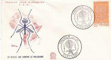 Chad 1962 Anti Malaria WHO FDC Unadressed VGC