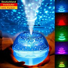 RGB Luftbefeuchter LED Ultraschall Duftöl Aroma Diffuser Humidifier Diffusor