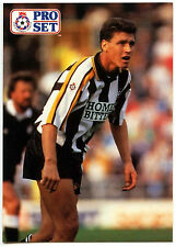 Paul Rideout Notts County #313 Pro Set Football 1991-2 Trade Card (C364)