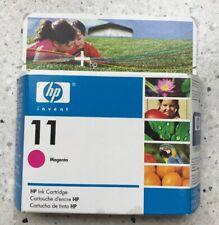 Hp 11 Ink Cartridge, Magenta, New In Box, Expired June 2008