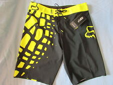 New FOX Dive Grav Boardshorts Swim Trunks Surf Shorts size 32 34 36