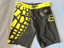 New FOX Dive Grav Boardshorts Swim Trunks Surf Shorts size 30 32 34 36 38