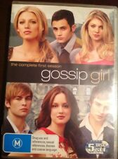 GOSSIP GIRL The Complete First Season 5 DVDs R4 VGC