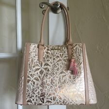 Brahmin Joan Tote Creme Este Collection NWT $415
