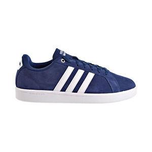 Adidas Advantage Suede Mens Shoes Blue-White B74227