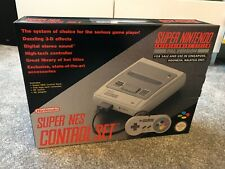 Super Nintendo SNES Console Pal Version NEW & UNOPENED COLLECTORS CONDITION RARE