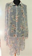 Ladies  Pretty Tunic Top - NEW -NEW LOOK - RRP £19.99 - Size 16- Thames Hospice