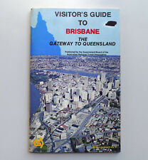 Vintage Visitor's Guide to BRISBANE History Historic Local Photos Tourist Maps