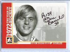 ITG 1972 The Year in Hockey  Autograph  #A-DB  Dan Bouchard
