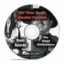 The Great Gildersleeve & Adventures of Sam Spade, 667 FULL SHOWS, OTR DVD F74
