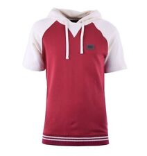 Hooded Short Sleeve Basic Fitted T-Shirts for Men