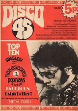 Disco 45 Magazine No.19 1972     Elvis Presley     Johnny Cash     Argent