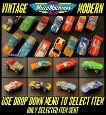 Micro Machines Vintage / Modern Miniature Racing Car Toys +More (Select Item)