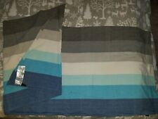 "Girasol Handwoven Baby Wrap Blue/Gray ""Glace"" 100% Cotton Size 4"