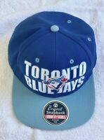 NEW DEADSTOCK VINTAGE Toronto BLUE JAYS Cooperstown Collection Snapback MLB Cap