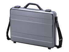 """DICOTA Alu 17.3"""" Briefcase Aluminium D30589"""
