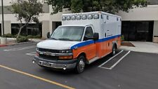 2016 Chevrolet Express 4500 Type Iii Ambulance Wheeled Coach