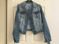 Womens YesYes jeans by New Look denim jacket size 8