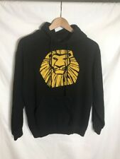 Disney Hoodie Black Lion King Las Vegas Youth Kids Size S #U