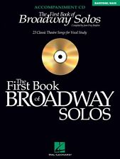 The First Book of Broadway Solos Baritone Bass Accompaniment CD Vocal  000740326