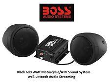 Bluetooth Capable MP3 Smart Phone Weather Proof Black Audio Sound System Honda