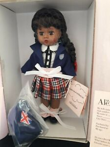 Madame Alexander 64501 English School Girl Wendy African American MIB