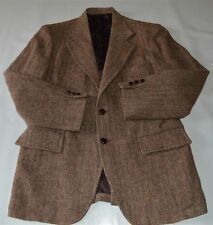Waist Length Blazers Wool Unbranded Coats & Jackets for Men