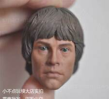 "Custom 1/6 scale Luke Skywalker Head Sculpt Star Wars male fit 12"" body"