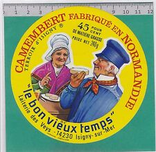 J133 FROMAGE CAMEMBERT 240 GR. LES VEYS MANCHE ISIGNY SUR MER CALVADOS
