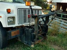 Commercial Snow Plow Hitch Mount Medium Duty Dump Truck Gmc Topkick Kodiak 6500