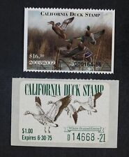 CKStamps: US State Duck Stamps Collection California (2) Mint NH