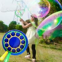Bubble Kit Outdoor Garden Toy Game Children Wand Blower Maker