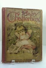 1883 Baby Chatterbox R.Worthington Stories and Poems for Little Ones Book