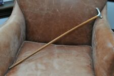 Antique Tiffany & Co Sterling Silver Handled Walking Stick Cane No Reserve